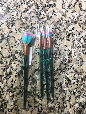 Mermaid like makeup brushes for Sale in Apopka, FL