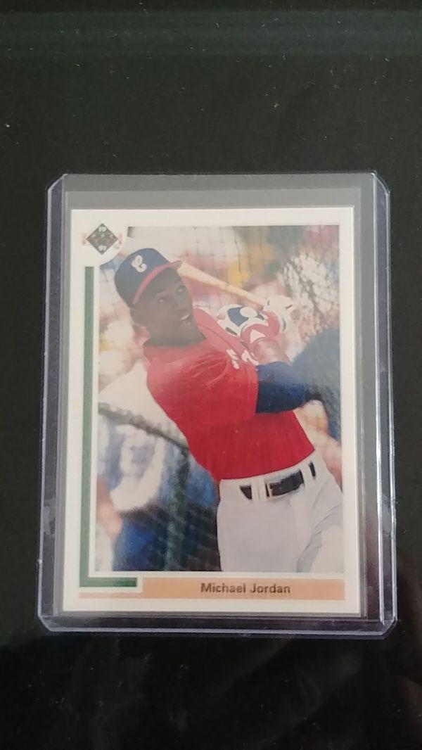 1991 Michael Jordan Baseball card #SP1