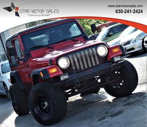 2006 Jeep Wrangler for Sale in Downers Grove, IL