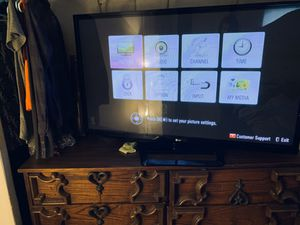 """LG 52"""" TV for Sale in Mebane, NC"""