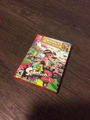 Splatoon Bonus Edition for Sale in Puyallup, WA