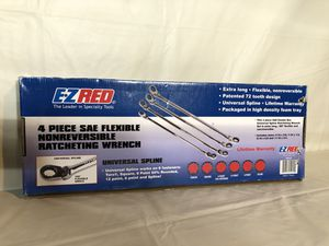 New EZ Red Flex Head Ratchet Wrenches for Sale in Portland, OR