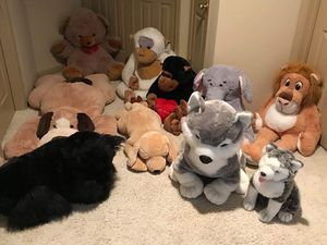Large Stuffed Plush Animals - $8 to $15 each for Sale in Nottingham, MD