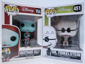 Funko Pop! Movies Nightmare Before Christmas Nightshade Sally & Dr. Finkelstein for Sale in Phoenix, AZ