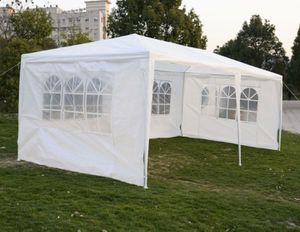 New 10×20 White Outdoor Party Tent With 4 Removeable Wall Upgrade for Sale in Glen Raven, NC