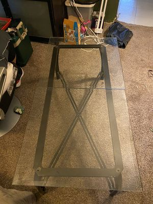 Glass table for Sale in Gridley, CA