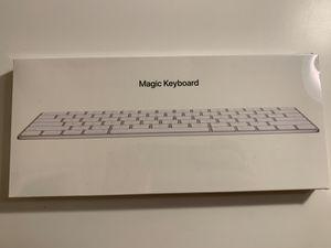 Apple Magic Keyboard (Wireless, Rechargable) (US English) - Silver for Sale in San Jose, CA