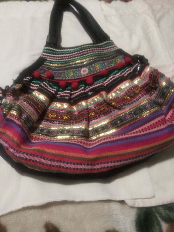 Hobo shoulder bag beautiful multi colors