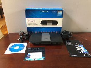 Linksys EA6400 AC1600 Dual-Band Smart Wi-Fi Router for Sale in Delaware, OH