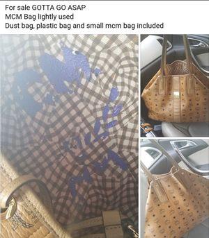 Large MCM shopper bag for Sale in Clinton, MD