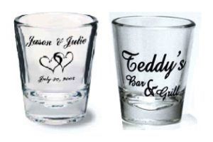 Custom imprinted shot glasses with your logo for Sale in Temecula, CA
