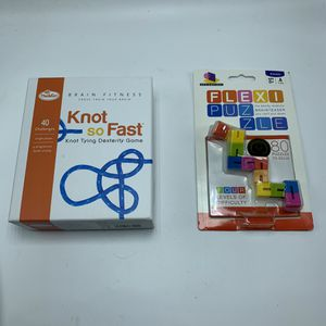 Brain Games (Flexi Puzzle & Knot So Fast) Lot of 2 Games for Sale in Phoenix, AZ