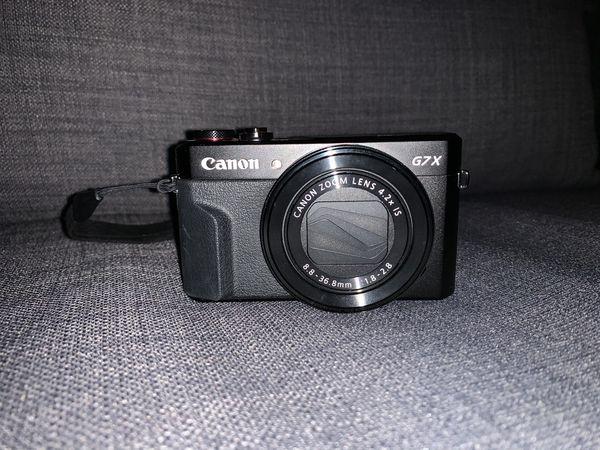 Canon G7 mark II