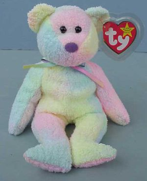 RARE Ty Beanie Baby GROOVY the Bear 1999 Mint with tag for Sale in West Warwick, RI