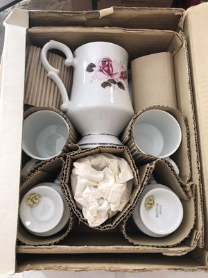 Brand New 10 Piece Vintage Tea Set for Sale in Alhambra, CA