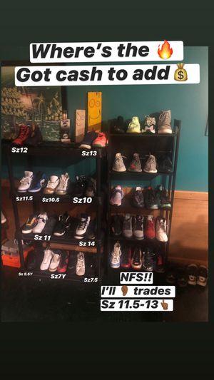 Sz5.5Y-14 Kicks Yeezys Jordan's Nike Adidas Off White Foams Supreme Lebrons Foams Af1 Ewing's Hype Shyt for Sale in Manassas, VA