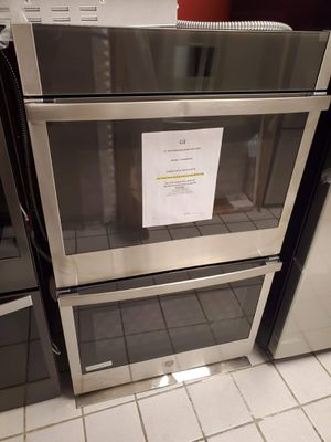 """GE 30"""" TRUE CONVECTION DOUBLE WALL OVEN for Sale in Rogers, AR"""