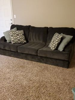 Gray Sofa Pillows Included for Sale in Edmonds,  WA