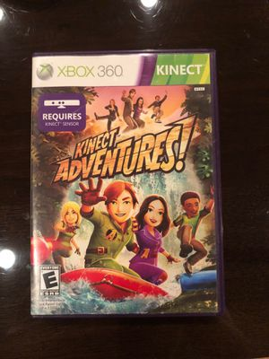 Kinect adventures Xbox 360 game for Sale in Dallas, TX