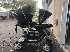 Graco ready2grow double stroller for Sale in Stanton, CA
