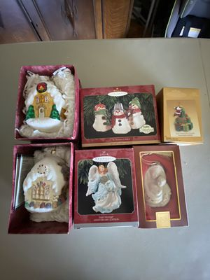 Assorted Hallmark Ornaments 2 for $30 for Sale in Millbrae, CA