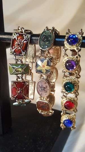 Colorful vintage bracelets for Sale in Everett, WA