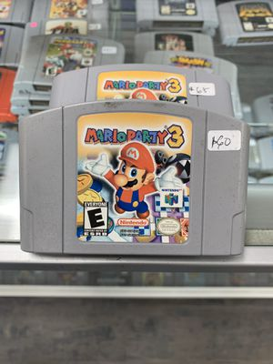 Mario party 3 $60 each Gamehogs 11am-7pm for Sale in East Los Angeles, CA
