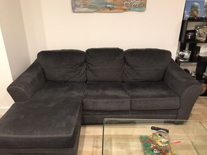 Raymour & Flanagan Reversible Sectional Couch for Sale in Brooklyn, NY