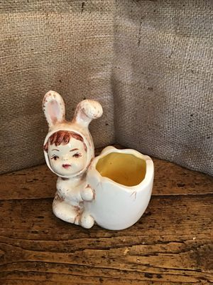 Vintage Baby Bunny Planter for Sale in Manchester, CT