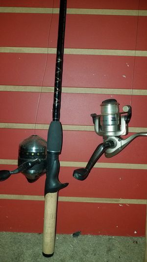 Fishing rods and reals for Sale in Grand Terrace, CA