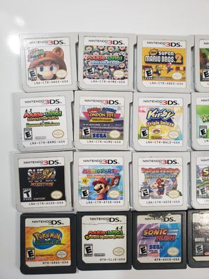 Nintendo DS/3ds lot $100 for Sale in Apple Valley, CA