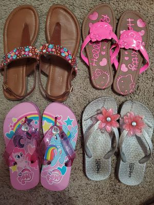 Four pairs of girl's shoes for Sale in Cypress Gardens, FL