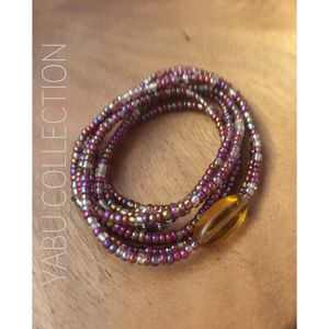 Waist bead with yellow stone for Sale in Washington, DC