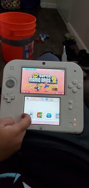 Nintendo 2ds with the new super Mario bros 2 for Sale in La Mesa, CA