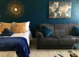 Grey Suede Couch/ Futon for Sale in Miami Beach, FL