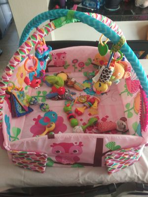 Tummy time mat with toys for Sale in Tucson, AZ