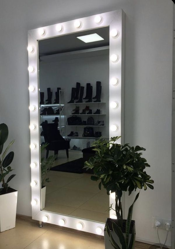 Mirror with lights