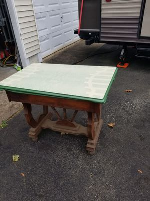 1930 Porcelain top table with leafs for Sale in Walpole, MA