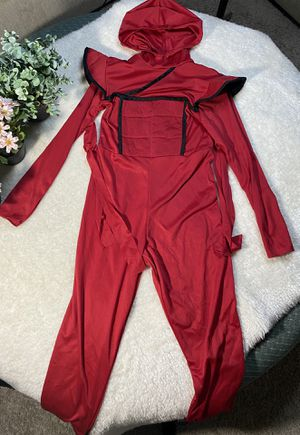 Boys ninja red M costume for Sale in Houston, TX