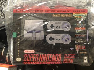 Nintendo snes and nes classics for Sale in Colton, CA