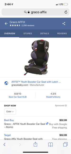 graco car seat for Sale in San Jose, CA