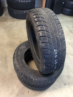 205/65/15 3. Tires only 80% tread for Sale in Tualatin, OR