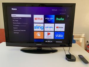 """Samsung 32"""" HDTV + Free Roku & HDMI for Sale in Los Angeles, CA"""