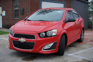 Chevrolet Sonic RS Turbo 2015 for Sale in Dallas, TX