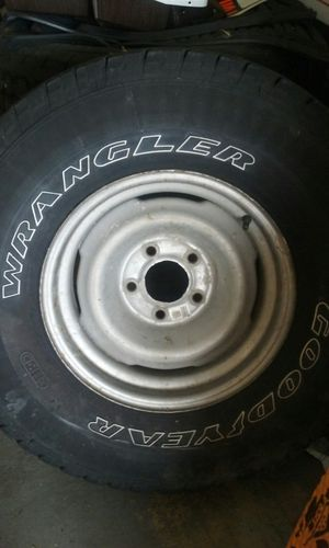 31/10.5/R15 (4 used tires ) for Sale in Frostproof, FL