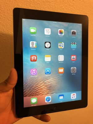 "iPad 2nd 16 gb Unlocked 9.7"" Display, Wi-Fi, black for Sale in Riverside, CA"
