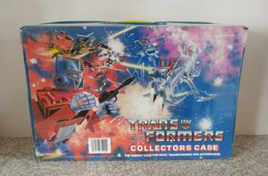 ba2380b58b2b3 Transformers G1 Collector s Case 1984 Hasbro NICE for Sale in Dana Point