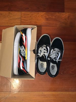 2 Vans for the price of 1(Size12) for Sale in Stamford, CT