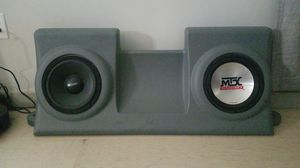 MTX Sub Box for 1997-2004 Ford F150. Amplifier also available. for Sale in Knoxville, TN