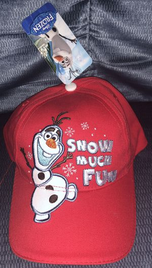 Frozen Olaf boys hat new for Sale in Riverside, CA